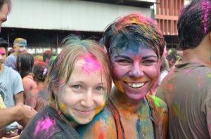 Celebrating Holi Festival in Malaysia