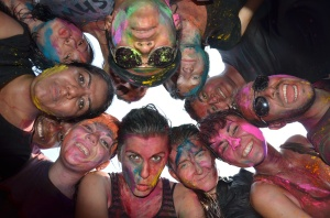 Holi is truly a festival of colours