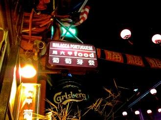 Melaka (Malacca) has stron Portugese influence