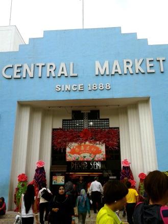 Central Market near Chinatown in Kuala Lumpur